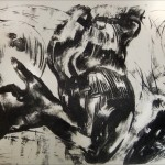 Senza titolo, litografia, 2014