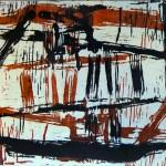 Senza titolo #1, xilografia, 2012