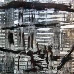 Senza titolo #2, xilografia con doppia matrice, 2012