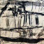 Senza titolo #3, xilografia, 2012
