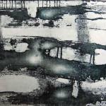 Senza titolo, incisione a zucchero, 2012