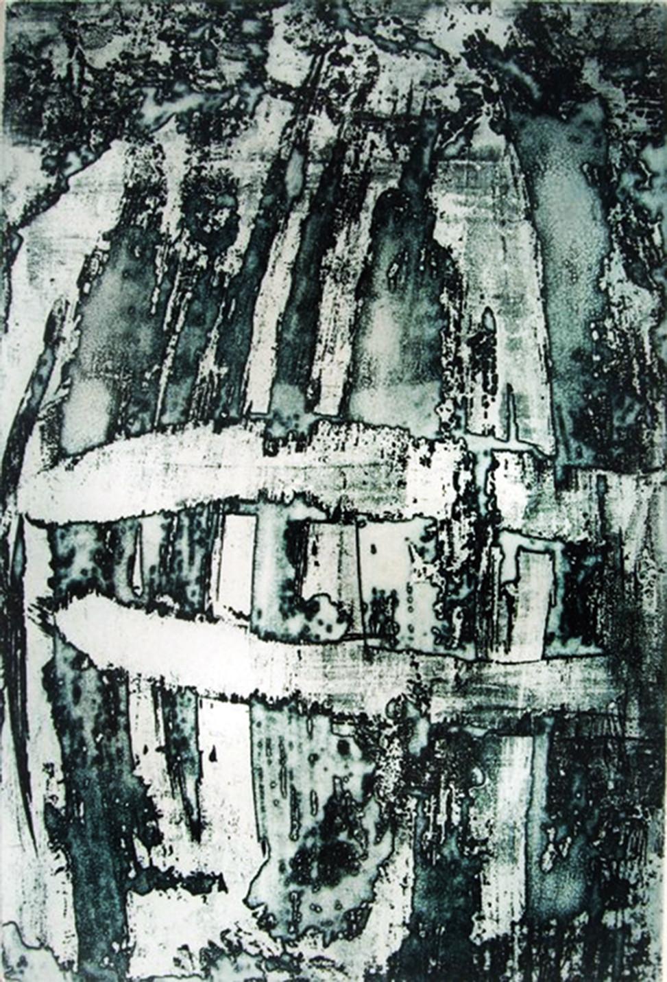 2012, Waterfalls, engravings