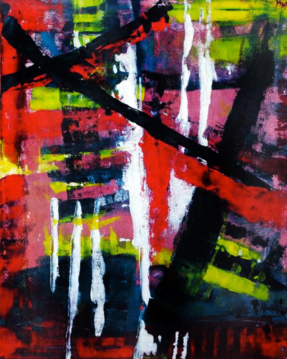 2012, Graffiti, acrilic on canvas