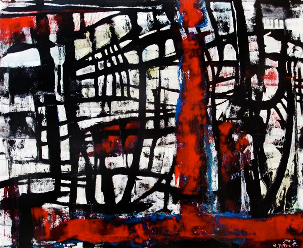 2011, Maps #2, acrilic on canvas