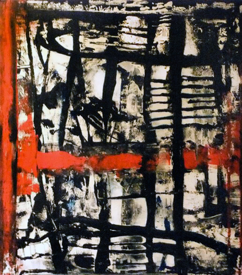 2011, Maps #1, acrilic on canvas