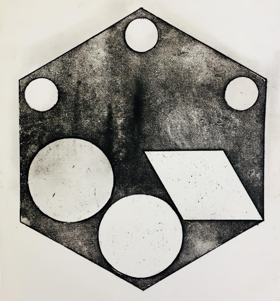Incisione, 24 cm x 24 cm, 2018